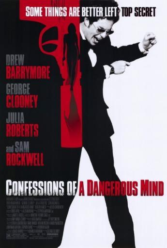 Confessions of a Dangerous Mind Movie Poster Print (27 x 40) SJANIUYAPWTCGOI4