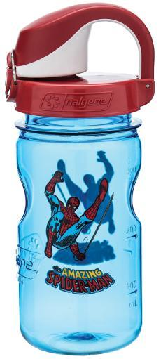 Nalgene 682016-0110 Nalgene Otf Kids Blue W/Fire Cap, Spiderman 74970F3C9E0CD6F