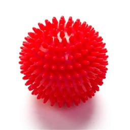 Black Mountain Products Massage Ball Red Deep Tissue Massage Ball With Spikes, Red