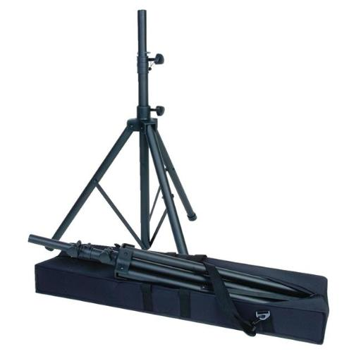 Califone 1544029 Heavy Duty Portable PA Tripod with Carry Case