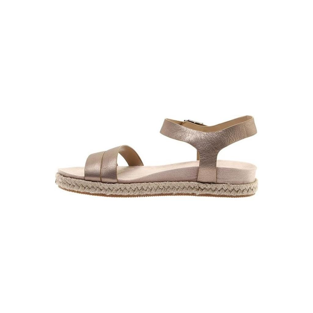 0f59a9eed1e8 Easy Spirit Womens Ixia Leather Open Toe Casual Espadrille Sandals