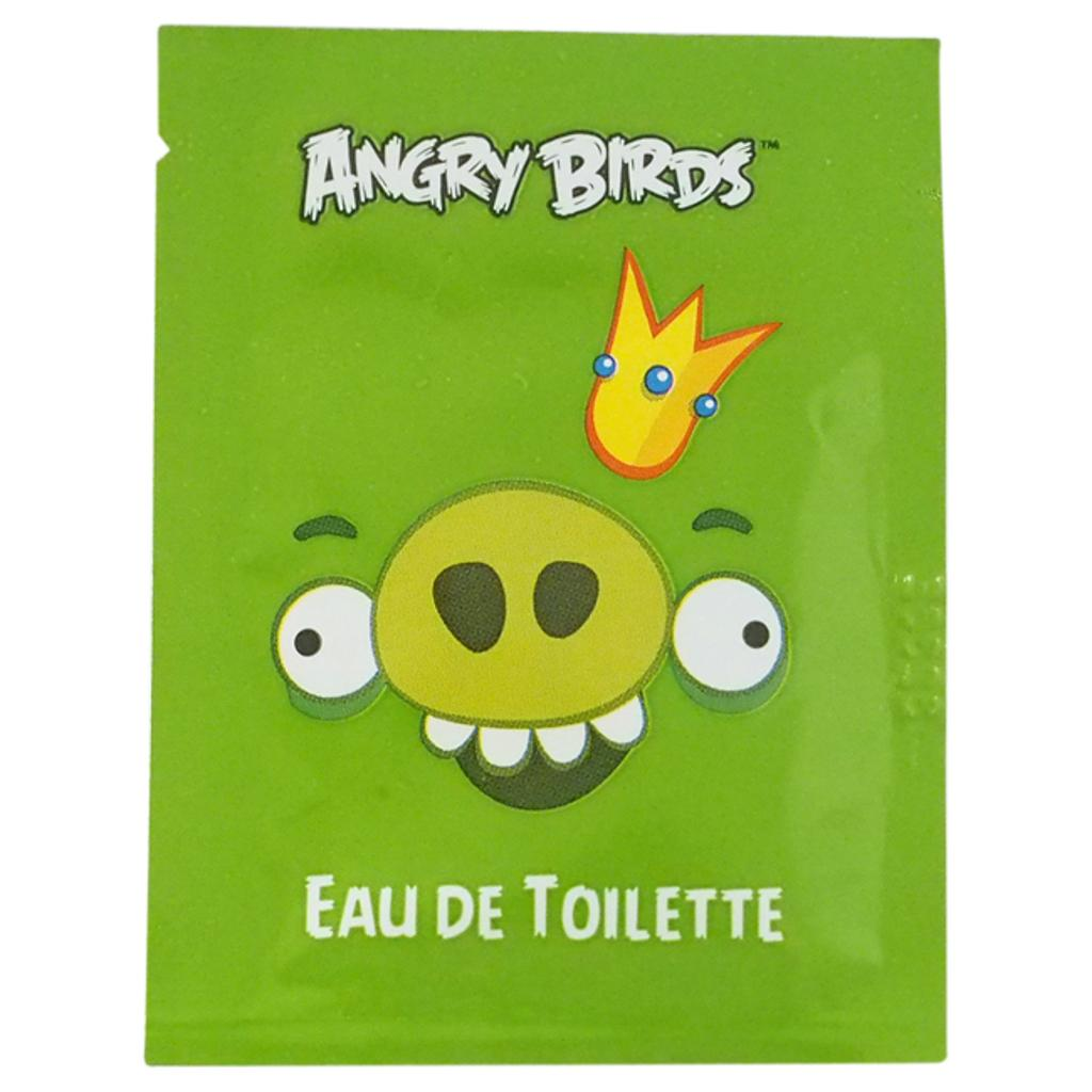 Air-Val International Angry Birds - King Pig By Angry Birds For Kids - 1 Pc Perfumed Wipes  1 Pc