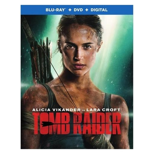 Tomb raider (2018/blu-ray/dvd/digital hd/2 disc)