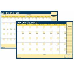 House Of Doolittle 18 x 24 In. Laminated Write And Wipe Wall Planner, 30 & 60 Day