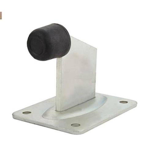 Aleko MX04B-UNB End Stop Floor Mount for Sliding Swing or Rolling Gates or Doors
