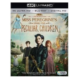Miss peregrines home for peculiar children (blu-ray/4k-uhd/dhd) BR2331891