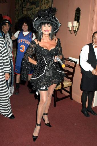 Ivana Trump Inside For Donna And Dick Soloway Halloween Party, Manhattan, New York, Ny, October 31, 2005. Photo By Rob RichEverett Collection.