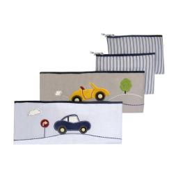 New Country Home 4986B 5 lbs My Little Town Bumper Pad Set - 4 Piece