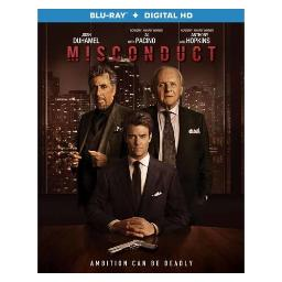 Misconduct (beyond deceit) (blu ray w/digital hd) BR48683