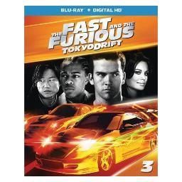 Fast & the furious-tokyo drift (blu ray w/digital hd) BR61184695