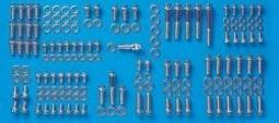 ARP 5949501 Engine And Accessory 12-Point Fastener Kit, Polished Stainless Steel, For Select Pontiac 350-400-450 CID Applications 594-9501