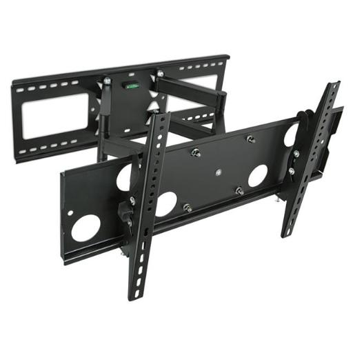 Mount-It MI-2291 32-65 in. Articulating TV Wall Mount for LCD LED Plasma Flat Screen TVs, Black