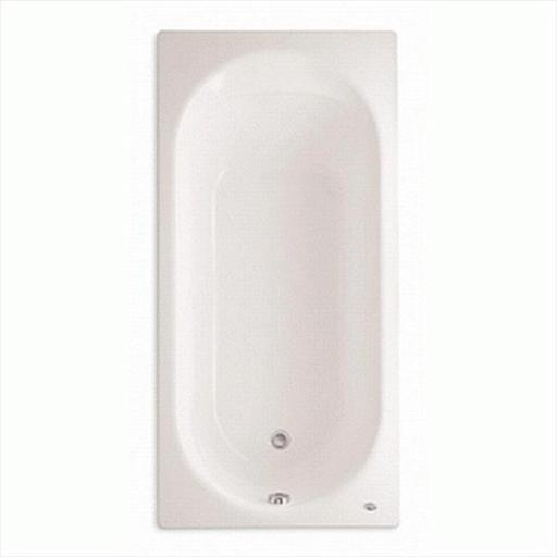 American Standard 2470.002.020 Stratford 5.5 ft. Americast Bathtub with Reversible Drain in White