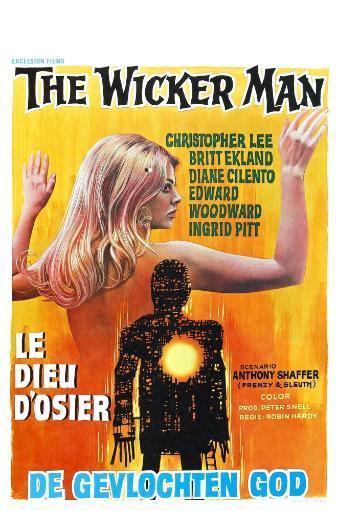 The Wicker Man Fine Art Print KXENCF17KKTIJI2J