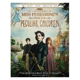 Miss peregrines home for peculiar children (blu-ray/dvd/digital hd) BR2315554