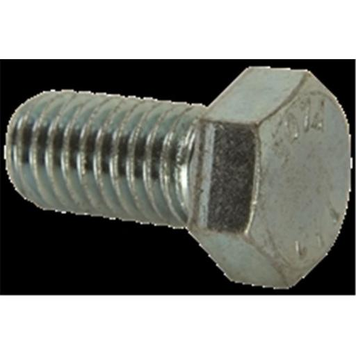 Hodell-Natco Industries 818211 Hex Bolts, 0.375-16 x 8 in.