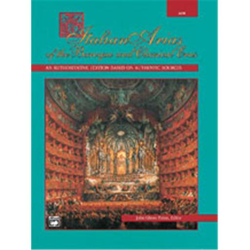 Alfred 00-4978 Italian Arias of the Baroque and Classical Eras - Music Book