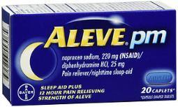 Aleve PM Caplets - 20 ct
