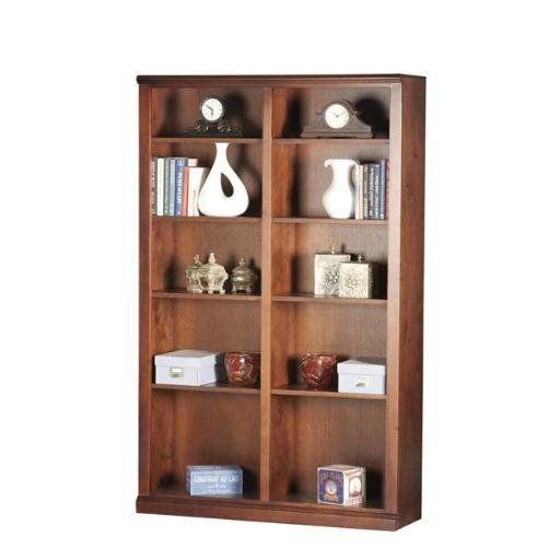 Eagle Furniture 72872NGSS 72 in. Double Wide Coastal Bookcase, Summer Sage
