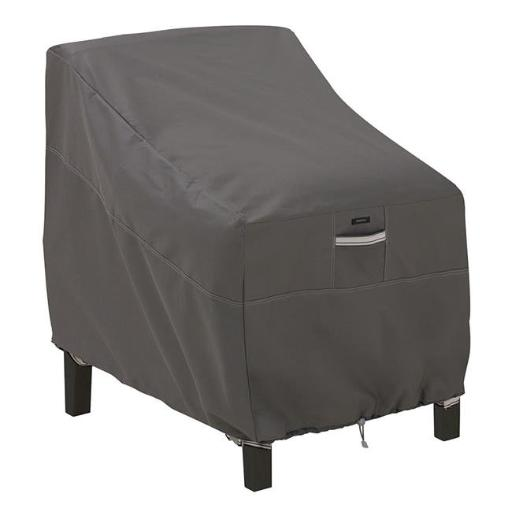Classic Accessories 55-422-015101-EC Deep Seat Lounge Chair Cover - Small, Taupe