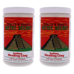 Indian Healing Clay By Aztec Secret For Unisex - 2 Lb Clay - Pack Of 2