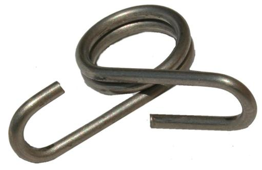 Parker Mccrory 719 Stainless Steel Rod Post Clip, 3/8
