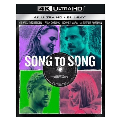 Song to song (blu ray/4kuhd/ultraviolet/digital hd) IYZQWQPFF0T5I24M