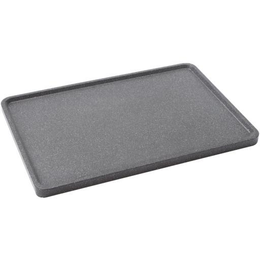 Starfrit 060739-003-0000 The Rock(Tm) By Starfrit 17.75 Reversible Grill/Griddle Pan