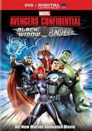 Avengers confidential-black widow & punisher (dvd/ultraviolet/dd5.1) D42946D