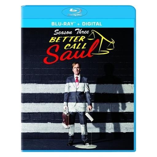 Better call saul-season three (blu ray w/uv) (3discs) 4KEKJCBQSZITGC67