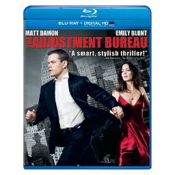Adjustment bureau (blu ray/new packaging) BR61115064
