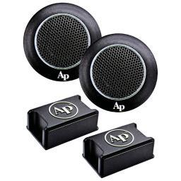 Audiopipe aphe-t350 audiopipe high frequency tweeters with kapton former voice coil (pair)