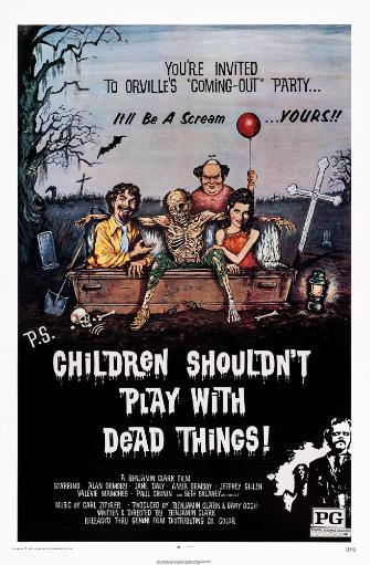 Children Shouldn'T Play With Dead Things Us Poster Art 1972. Movie Poster Masterprint TDSAFP6SME25JUHK
