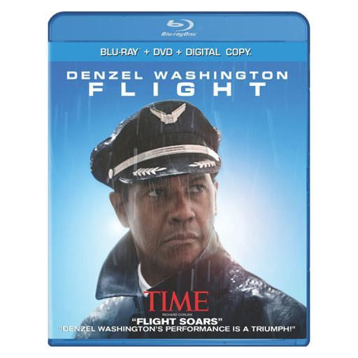 Flight (blu ray/dvd combo w/digital copy/ultraviolet/2discs)-nla U3J0KB8GAVGD3GSI