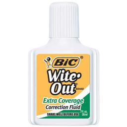 Bic usa inc 12 ea bic wite out correction wofec12bn