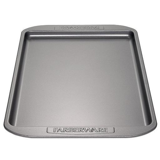 Farberware Nonstick Bakeware 10-Inch x 15-Inch Cookie Pan Gray