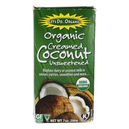 Let's Do...Organic - Organic Creamed Coconut Unsweetened - 7 oz.