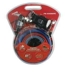 AUDIOPIPE PK-1540HPS Audiopipe Complete 8 Gauge Amp kit with Line Out Converter