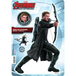 "Hawkeye Desktop Standee Pop Out 10.75"" Avengers Ultron Marvel Comics"