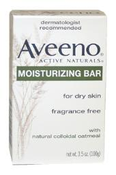 Aveeno Active Naturals Moisturizing Bar for Dry Skin with colloidal oatmeal 3.5