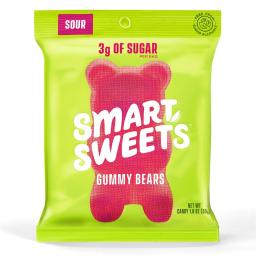 SmartSweets - Naturally Sweet Gummy Bears Seriously Sour