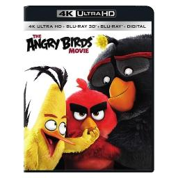 Angry birds (2016/blu-ray/4k-ultra hd/blu-ray 3-d/ultraviolet/3 disc) (3-d) BR47410