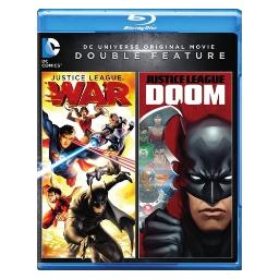 Dcu justice league-doom/dcu justice league-war (blu-ray/dbfe) BR596814