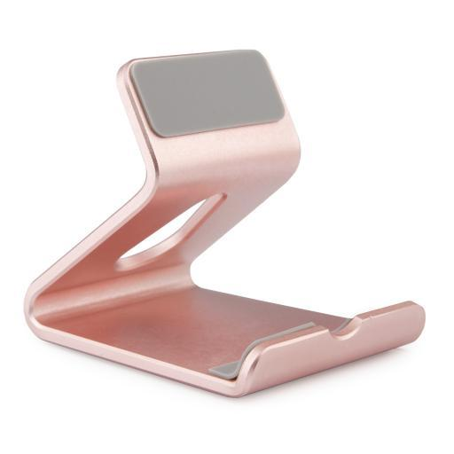 Mobile Phone Portable Cradle Premium Alloy Holder for iPhone Samsung HTC Sony