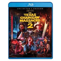 Texas chainsaw massacre part 2 (blu-ray/collectors edition/ws/2 disc) BRSF16589
