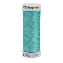 Sulky Rayon Thread 40wt 250yd, Light Teal