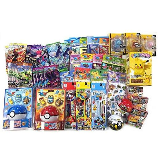 Pokemon 10 Assorted Toy Sticker Card Pokeball School Supply Stationary Gift Set Pokemon 10pcs of Assorted Toy Pokeball School Supply Stationary Gift Set*READ THE DESCRIPTION !! - YOU WILL GET 10 POKEMON ITEMS FROM FOLLOWING LIST. (IT WILL BE RANDOMLY SELECTED AND SENT!)*YOUR 10 ITEMS COULD BE. POKEMON COLORING BOOK (WITH VARIOUS CHARACTERS AND DESIGNS) POKEMON MINI MEMO PAD POKEMON LINED NOTEBOOK POKEMON PLASTIC MINI FIGURE TOYS, POKEMON SOCKS, POKEBALL (CONTAINS SECRET MYSTERY GIFT INSIDE : EITHER A SPINNING TOP TOY, ERASERS WITH STICKER, KEY STRAP, OR MINI FIGURE SUCTION TOY) POKEMON 0.5MM LEAD POKEMON 0.5MM MECHANICAL PENCIL POKEMON PENCIL CASE POKEMON DDAKJI / CARD POKEMON STICKER POKEMON WHITE OUT POKEMON LAYER FILE / FOLDER*- TOTAL : YOU WILL RECEIVE ONLY 10 ITEMS!! (Randomly selected and prepacked items from images shown, or new items will be added)*- Great gift for Student, holidays, parties, and birthday gifts! - Get EVERYTHING!! in 1 package!