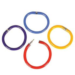 Rhode Island Novelty Bendable Pen Bracelets Assorted Colors Set of 12