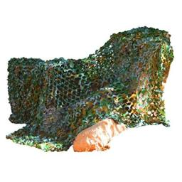 Kangaroo Army Safari Camouflage Netting- 8' x 6' Green Camo Netting