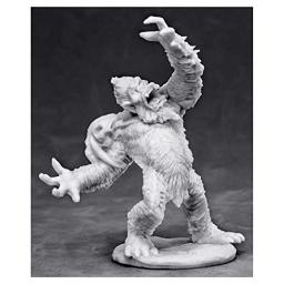 Yeti Chieftain Miniature 25mm Heroic Scale Warlord Bones Reaper Miniatures